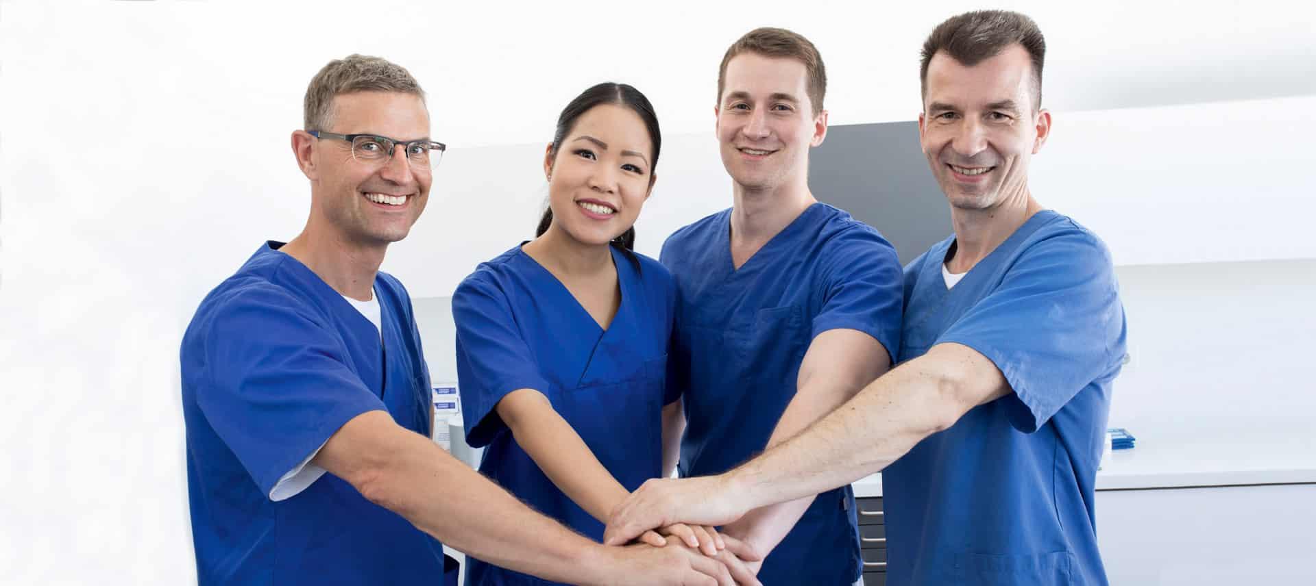 Unser Team des ZZZW - Zahnkompetenz mit Herz.