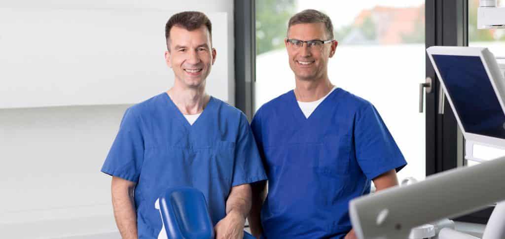 Dr. med. dent. Dirk Mankow y Dr. med. dent. Sven Feuerböther