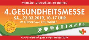 ZZZW auf der Gesundheitsmesse 2019 in Berlin-Zehlendorf
